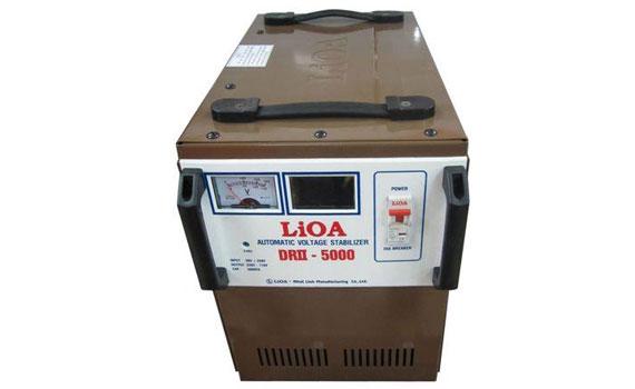 Thiết kế ổn áp Lioa 1P DRII - 5KVA - DRII-5000 nhỏ gọn