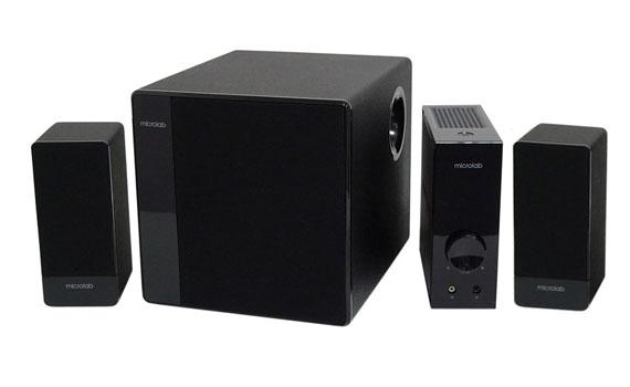 Loa Microlab FC 360/2.1 thiết kế đơn giản