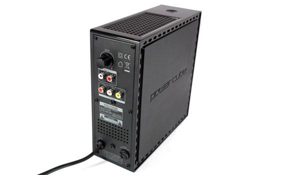 Loa Microlab FC 360/2.1 kết nối đơn giản