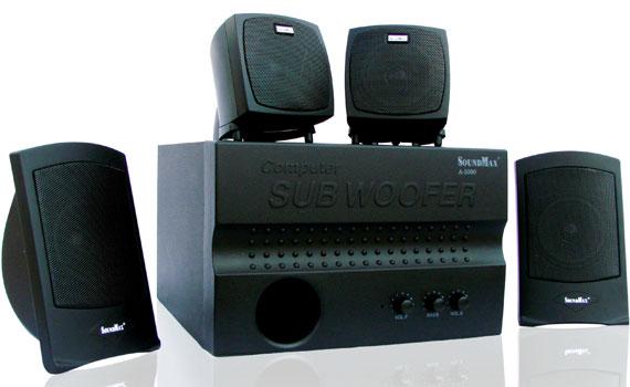 Loa vi tính Soundmax A5000 thiết kế sang trọng