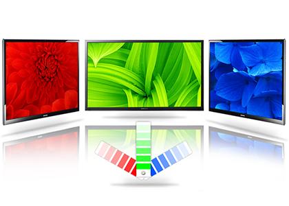 Trải nghiệm sắc màu chân thực cùng Tính năng Nâng Cấp Màu Mở Rộng trên Tivi Led Kỹ Thuật Số Samsung UA32H4100AK.