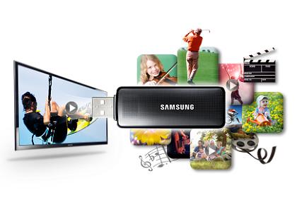 Tivi Led Kỹ Thuật Số Samsung UA32H4100AK cho bạn tận hưởng ngay phim, ảnh, nhạc tức khi cắm USB hoặc ổ cứng vào TV