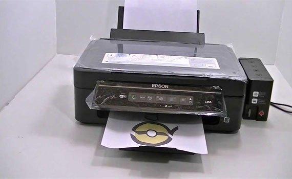 Máy in phun Epson L355 đa tính năng in, scan, copy