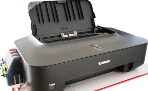 Máy in phun Canon PIXMA IP2770 với thiết kế hiện đại