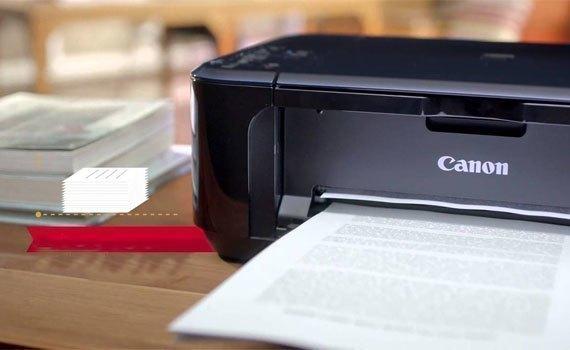 Máy in phun Canon PIXMA E560 có tốc độ in cao