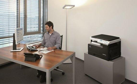 Máy photocopy Konica Minolta Bizhub 165 thiết kế hiện đại