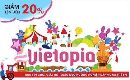 Vietopia pass Hãy để trẻ thỏa thích vui chơi và thỏa sức khám phá nhiều nghề nghiệp tại Vietopia