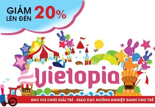 Vietopia - Vé vietopia- Thẻ vietopia giảm giá 20%, vietopia nguyễn kim