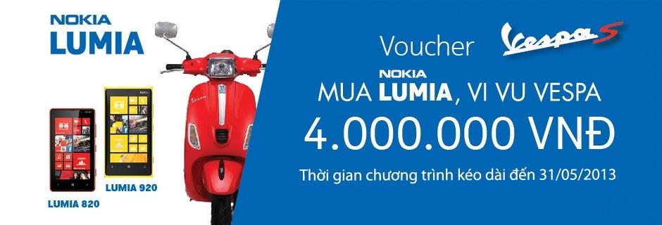 Mua Nokia Lumia, Vi Vu Vespa