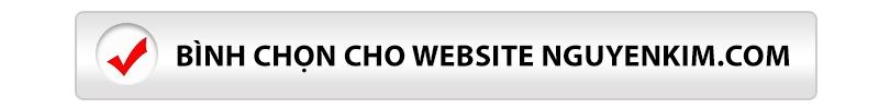 Bình chọn nguyenkim.com là website thương mại điện tử trực tuyến tốt nhât