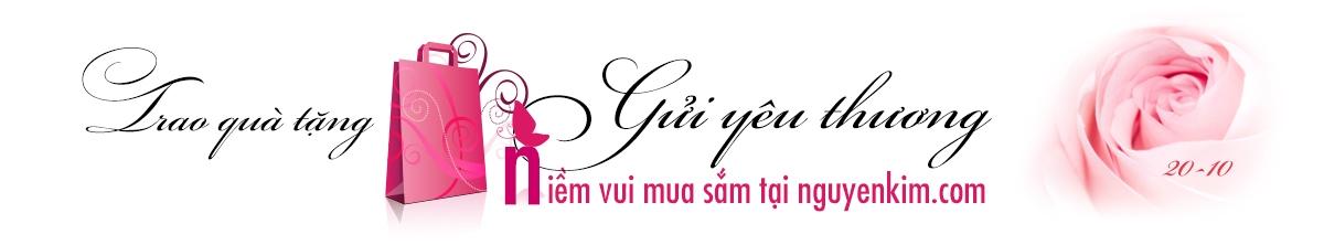 Khuyến mãi hấp dẫn hàng điện máy, điện thoại, điện lạnh,. mừng ngày phụ nữ việt nam trao quà tặng, gửi yêu thương tại nguyenkim.com