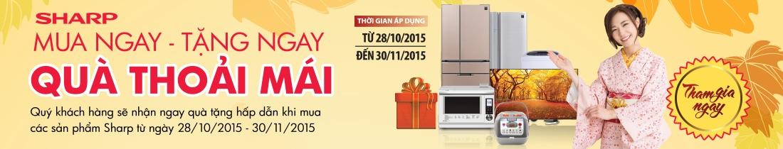 Mua tủ lạnh sharp giá rẻ tại Nguyễn Kim