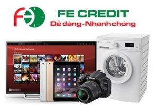 Dịch vụ trả góp FE credit tại Nguyễn Kim thoải mái mua sắm với lãi suất thấp nhất và không cần trả trước