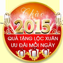 Khuyến mãi chào 2015 mua hàng online giá ưu đãi cùng nhiều quà tặng giá trị đang chờ bạn tại nguyenkim.com