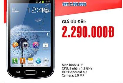 Galaxy<br> Trend Plus - S7580