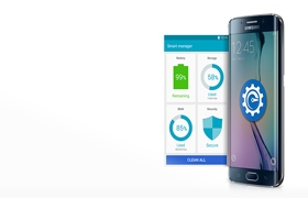 Samsung Galaxy S6 Edge Smart Manager