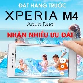 Đặt mua điện thoại Sony Xperia M4 giá rẻ nhất quà liền tay tại nguyenkim.com