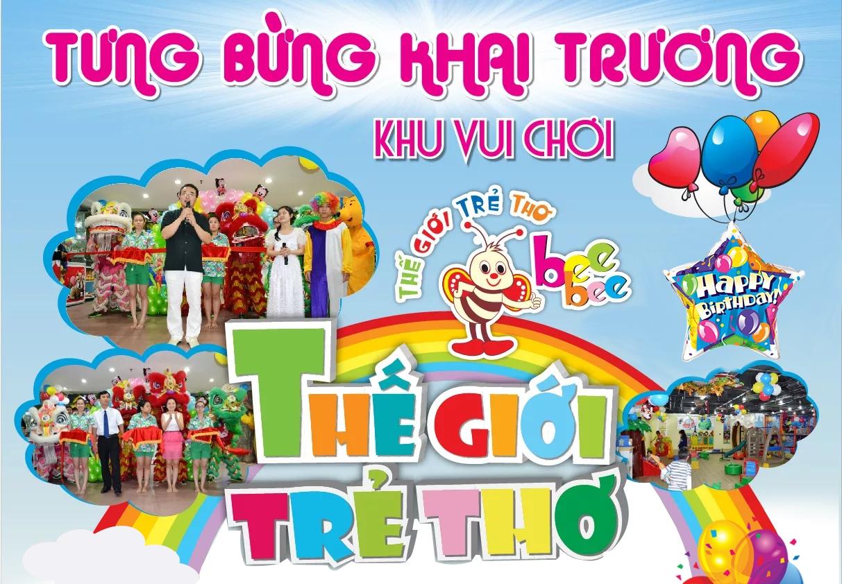 khu vui chơi giải trí thế giới trẻ thơ Nguyễn Kim