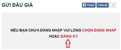 Đăng ký tài khoản đấu giá tại Nguyễn Kim Online