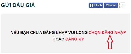 Đăng nhập chương trình để tham gia đấu giá nhận ngay điện thoại smartphone cao cấp tại Nguyễn Kim Online