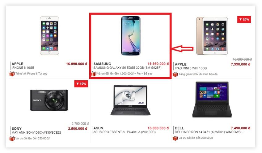 Hướng dẫn chọn mua hàng sản phẩm giá rẻ tại Nguyễn Kim Online