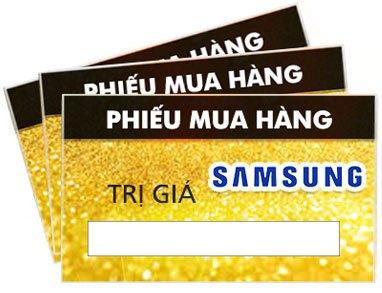 phiếu mua hàng Samsung, phiếu mua hàng Samsung giảm giá