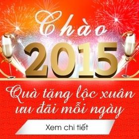 Khuyến mãi chào 2015, Mừng xuân mới 2015, quà tặng tết, ưu đãi, giảm giá khuyến mãi lớn cuối năm 2015