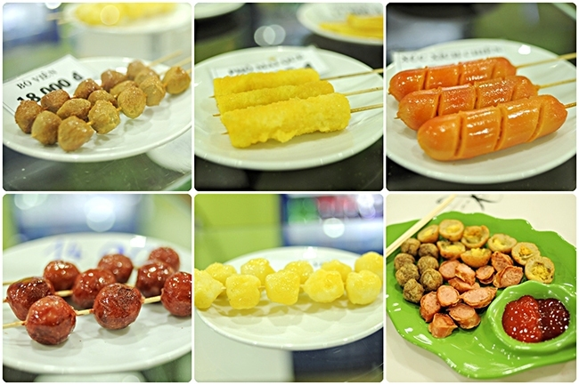 Các món ăn tại Bee Bee Land