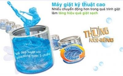 Máy giặt Aqua AQW-DQ900HT 9 kg vàng giá tốt tại nguyenkim.com