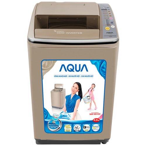 Máy giặt Aqua AQW-DQ900HT 9 kg vàng giảm giá tại nguyenkim.com