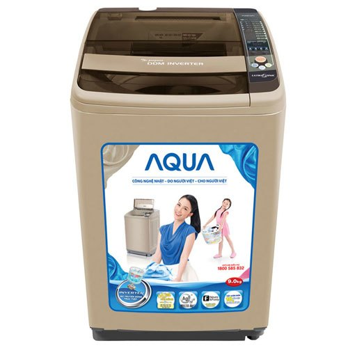 Máy giặt Aqua AQW-DQ900ZT 9 kg giảm giá tại nguyenkim.com