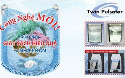 Máy giặt Aqua AQW-DQW90ZT 9 kg bạc giảm giá hấp dẫn tại nguyenkim.com