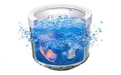 Máy giặt loại nào tốt? Máy giặt Aqua AQW-DQW90ZT 9 kg bạc