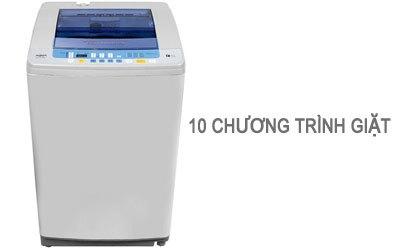 Máy giặt Aqua AQW-DQW90ZT 9 kg bạc có 10 chương trình giặt tự động