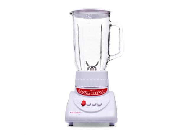 Máy xay sinh tố Khaluck.Home KL-333 được chia thành 3 mức tốc độ để bạn lựa chọn phù hợp với thực phẩm chế biến