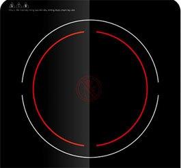 Bếp hồng ngoại Sunhouse SHD6005 trang bị kính chịu nhiệt cao
