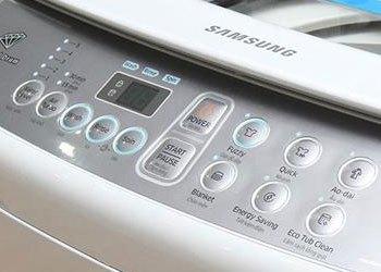 Bảng điều khiển tiếng tiếng Việt máy giặt Samsung WA72h4000SG