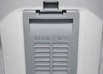 Máy giặt Samsung WA72H4000SG bộ lọc Magic Filter giặt sạch quần áo