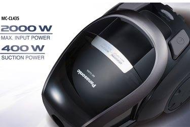 Máy hút bụi Panasonic MC-CL455KN46 công suất hút 2000W