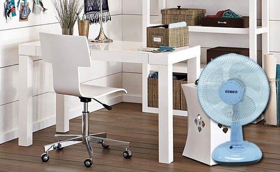Quạt bàn Senko B113 có thiết kế nhỏ gọn