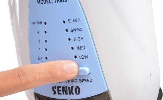 Quạt treo Senko TR828 môn có 3 tốc độ gió