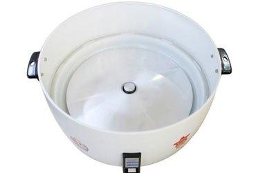 Nồi cơm điện Sharp KSH-1010V công suất 2750W nấu cơm nhanh chín