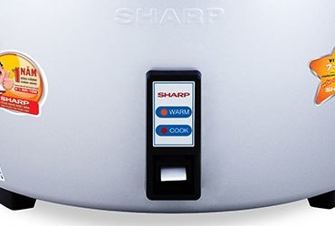 Nồi cơm điện Sharp KSH-1010V giữ ấm cơm hiệu quả