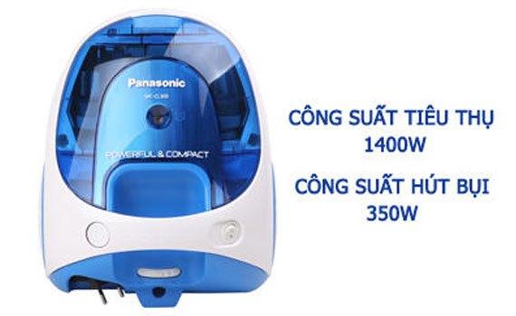 Máy hút bụi Panasonic MC-CL305BN46 công suất mạnh mẽ