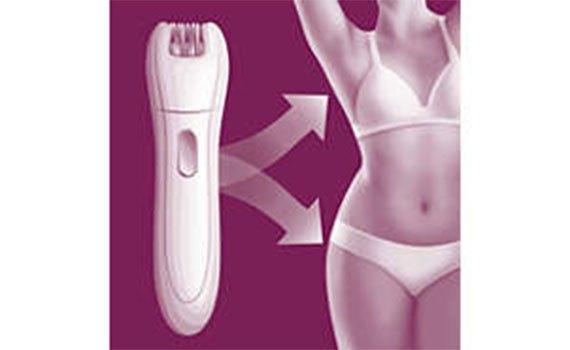 Máy nhổ lông cho nữ Philips HP6549 phù hợp với làn da nhạy cảm