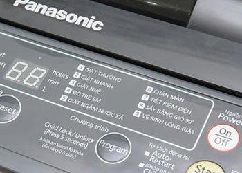 Máy giặt Panasonic NA-F70VB6HDK 9 chương trình giặt