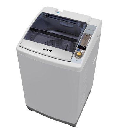 Mua máy giặt loại nào tốt. Máy giặt Sanyo ASW-S80ZT(S) 8 kg