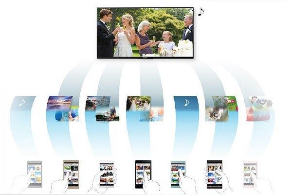 Chia sẻ khoảnh khắc Photo Sharing với TV LCD SONY KDL-48R550C