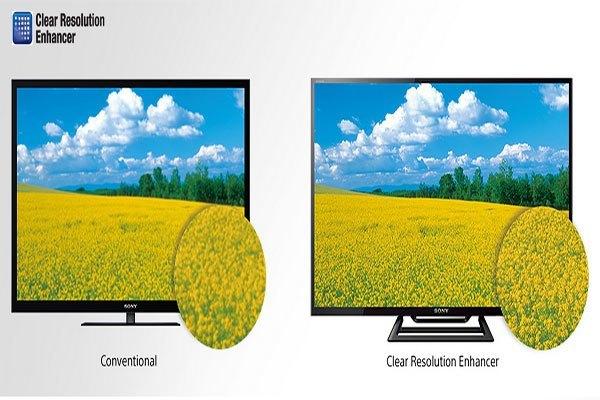 Hình ảnh rõ nét, tự nhiên với TV LCD SONY KDL-48R550C