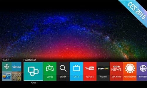 TIVI LED SAMSUNG UA65JS9000KXXV sử dụng hệ điều hành Tizen OS